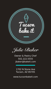 Starter stationery cook tucson sample business cards colourmoves